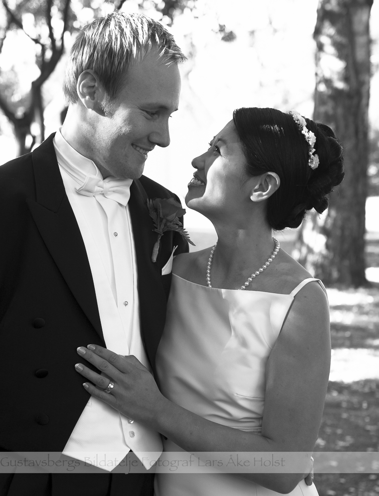 Bilder från när Fredrik och Lotta gifter sig